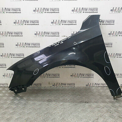 Vw Passat B7 Saloon 5dr Passenger Side Wing Black Lc9x 2011 Age Related Marks  • 79£
