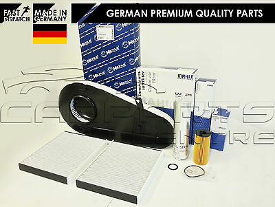For Bmw 520 D 520d F10 F11 Service Kit Oil Air Fuel Cabin Pollen Filter Mahle • 89.99£