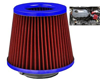 Red/Blue Induction Cone Air Filter Peugeot 308 CC 2009-2016 • 16.50£