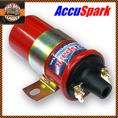 Genuine ACCUSPARK High Performance Standard 12v Sports Coil Replaces DLB105 • 19.95£