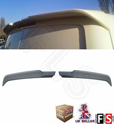 Vw Transporter T5 T6 Rear Roof Boot Spoiler Caravelle Rear Twin Barn Door  03-15 • 57.99£