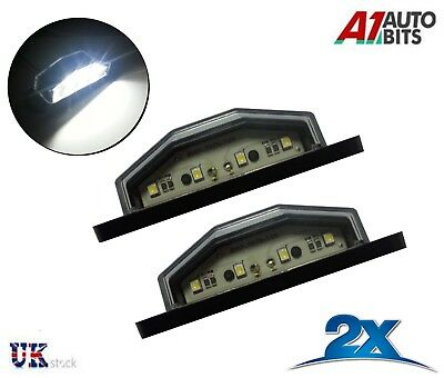 2x 4 LED Rear Tail License Number Plate Light Lamp Truck Trailer Super Bright • 6.99£