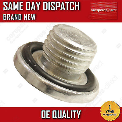 Brand New Oil Sump Plug Fit For A Vauxhall Astra, Agila, Corsa, Vectra, Zafira • 3.19£