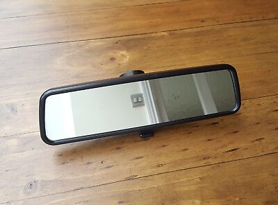 Vw Transporter T5 / T6 / Caravelle / Golf Mk4 / Passat Rear View Mirror - Black • 29£