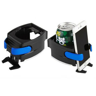 Smart Car Drink Holder Bottle Cup Water Air Vent Phone Mount 2 In 1 Universal UK • 6.29£