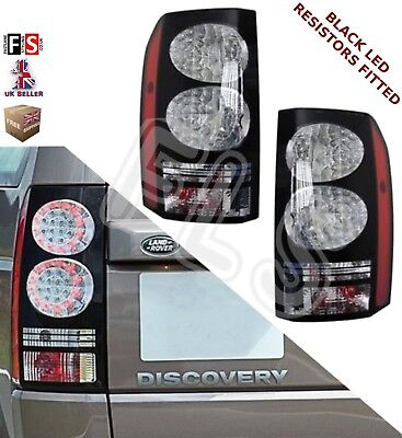 Land Rover Discovery 3 & 4 New Rear Light Tail Lights Black Led -2014 Upgrade 3 • 249.99£