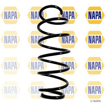NAPA 2x Front Coil Springs NCS1108(x2) - BRAND NEW - GENUINE - 5 YEAR WARRANTY • 25.36£