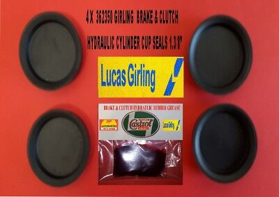 362350 New Girling Cup Seals 1.3/8  Dia With Rubber Grease • 12£