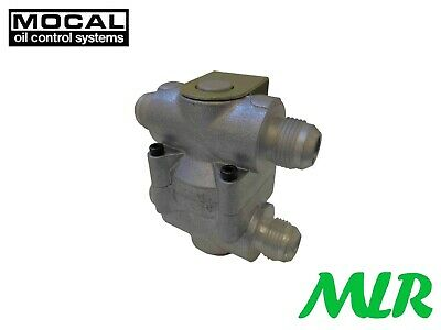 Mocal Ot/2j Remote Oil Cooler Thermostat With An -16 Jic Fittings Bcv • 104.99£