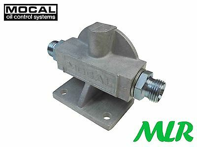 Mocal Rfh1e 3/4unf Remote Oil Filter Head Westfield Caterham 7 Dax Locost St1 • 39.99£