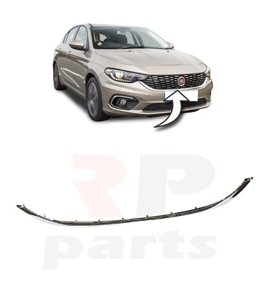 For Fiat Tipo 2016 - 2019 New Front Center Grille Chrome Molding Trim 735637924 • 54.89£