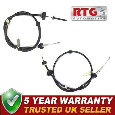Hand Brake Cables Left + Right For Land Rover Discovery 04-17 Range Rover Sport • 59.19£