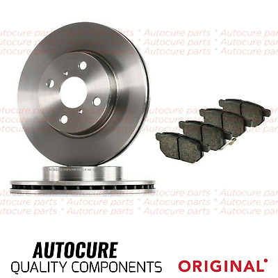 Fits Toyota Yaris 2006-2012 Front Brake Discs And Pads Brand New • 47.99£