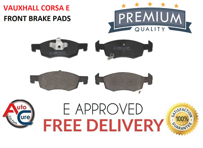 For Vauxhall Corsa E 1.2 1.4 Front Brake Pads (257mm) 2014 - 2017 *new* • 23.99£