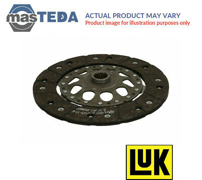 Luk Clutch Friction Disc Plate 331 0132 16 I New Oe Replacement • 128.99£