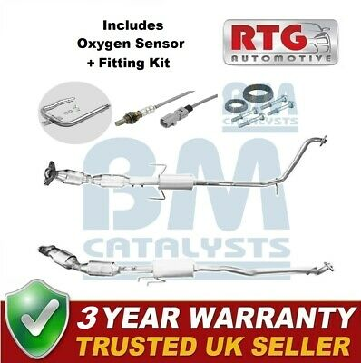 Approved Catalytic Converter + Oxygen Sensor For Toyota Prius 1.8 Hybrid 2009-16 • 438.99£