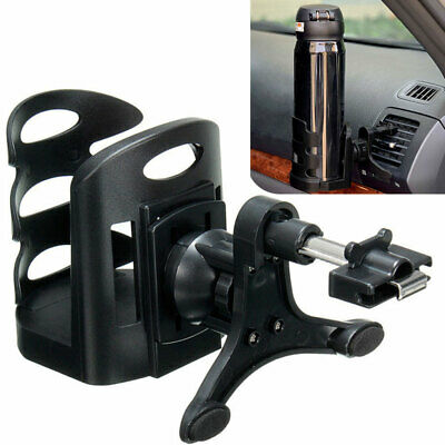 Car Accessories Drink Cup Holder Air Vent Clip-on Mount Water Bottle Stand Tool • 6.54£