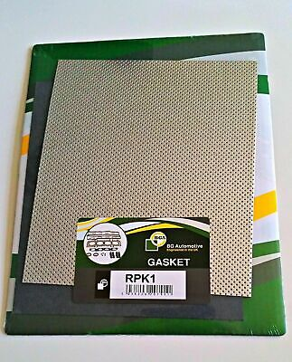 Exhaust Gasket Material Universal Make Your Own Full Metal Gasket 250mm X 300mm • 8.50£