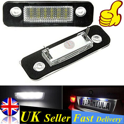 2PCS LED License Number Plate Lights Lamp Fit For FORD MONDEO II Estate Saloon • 7.99£