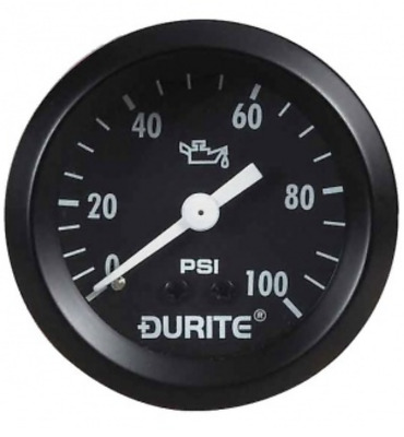Durite 0-533-16, Mechanical Oil Pressure Gauge With 12' Capillary - 52mm • 34.65£