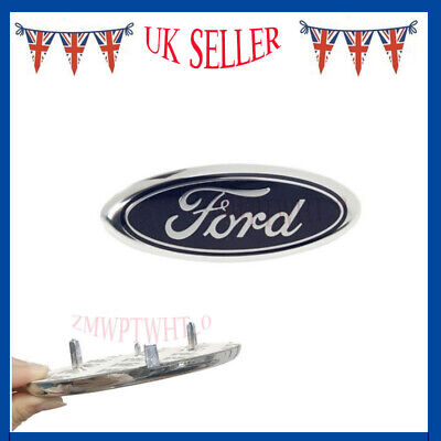 For Ford Figo Focus KA Mondeo S-Max Car Front Oval Badge Logo 1779943 145x60mm • 8.99£