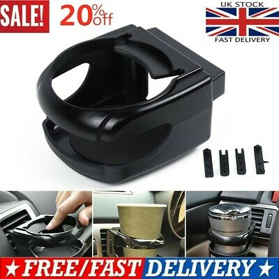 1x Auto Car Cup Holder Mount Tray Air Vent Drinking Coffee Can Bottle Bracket UK • 5.84£