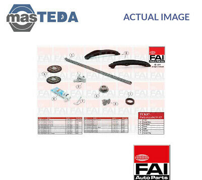 Fai Autoparts Engine Timing Chain Kit Tck87 P New Oe Replacement • 142.99£
