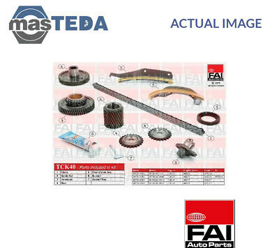 Fai Autoparts Engine Timing Chain Kit Tck40 P New Oe Replacement • 268.99£