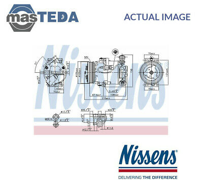 Nissens A/c Air Con Compressor 89215 P New Oe Replacement • 306.99£