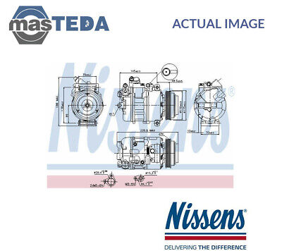 Nissens A/c Air Con Compressor 89080 P New Oe Replacement • 303.99£