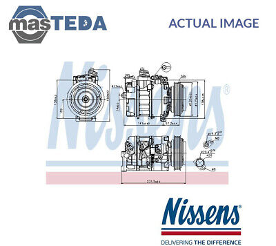 Nissens A/c Air Con Compressor 89231 G New Oe Replacement • 315.99£