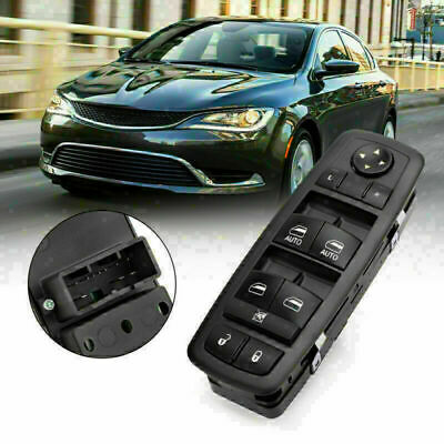 Front Left Master Window Switch 68231805AA Fits Charger Chrysler 4DR 11-17 • 28.79£