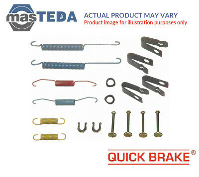 Quick Brake Rear Brake Drum Shoes Fitting Kit 105-0004 P New Oe Replacement • 13.99£