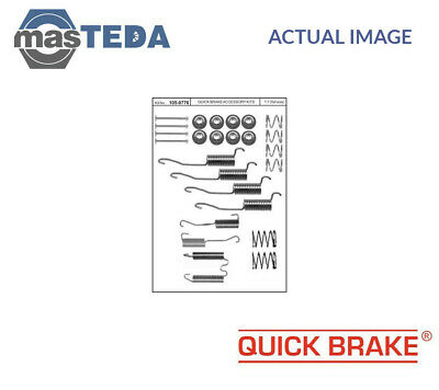 Quick Brake Rear Brake Drum Shoes Fitting Kit 105-0776 P New Oe Replacement • 16.99£