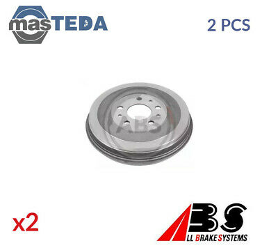2x ABS REAR BRAKE DRUM PAIR SET 2925-S P NEW OE REPLACEMENT • 113.99£