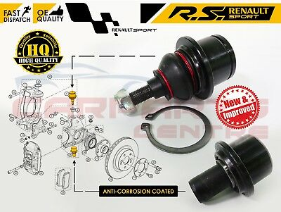 For Renault Clio 197 200 Megane Mk3 Rs Sport Top And Bottom Hub Ball Joint Pivot • 52.99£