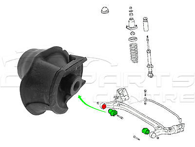 For Toyota Prius 1.5 2003-2009 Hatchback Rear Axle Beam Mounting Bush Brand New • 24.99£
