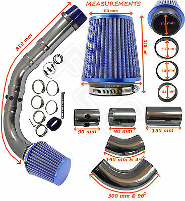 Universal Performance Cold Air Feed Induction Intake Kit 2103007b – Bmw 1 • 549.99£