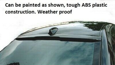 Bmw 5 Series 2003-2010 E60 E61  Rear Roof Spoiler Window Wing Boot Trunk Lip M • 59.99£