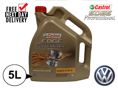 Castrol Edge Professional Longlife 5w30 Fully Synthetic 5l **vw50400/vw50700** • 32.99£