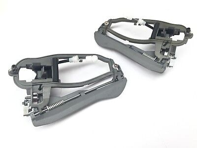 Front Left + Right Door Handle Carrier Frame For BMW X5 E53 1999-2006 (Pair) • 34.99£