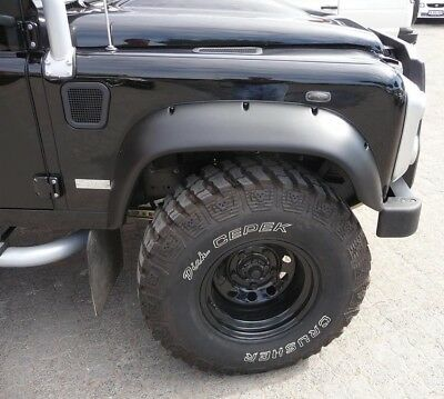 WIDE WHEEL ARCH KIT EXTENDED ARCHES ABS UK MADE FOR Land Rover Defender 90 110 • 143.95£