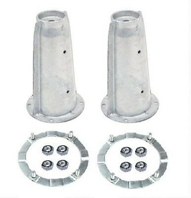 Front Suspension Turret Ring Kit For Land Rover Defender Discovery 1 GALVANISED • 49.75£