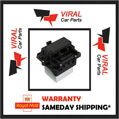 Heater Blower Fan Motor Resistor 6 Pin Fits Megane Scenic Trafic Nv400 Vivaro • 24.99£