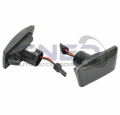 Vauxhall Astra H Mk5 2004> Dynamic LED Sequential Smoked Side Repeater Indicator • 14.98£