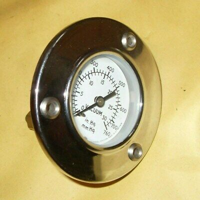 S Smith & Sons Vacuum Gauge - As Photo's • 50£