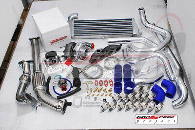 Turbonetics Complete Set-Up T3 Turbo Charger Kit For Civic Si EP3 RSX K20 DC5 • 1,228.13£