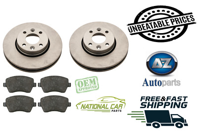 For Nissan Note 1.5 DCi 1.4 1.6  Front Vented Brake Discs & Pads Set 2006-2012  • 39.49£