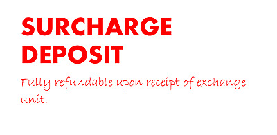 Surcharge Deposit - Fully Refundable • 100£