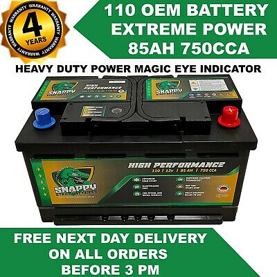 110 Ford Transit Battery 85ah High Performance Ready To Use Fully Charged • 58.99£